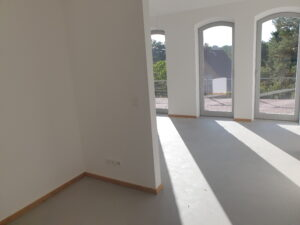 4 x Bodentiefe-Fenster