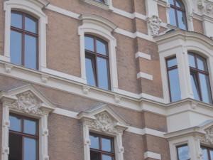 Detail Fassade Elbansicht