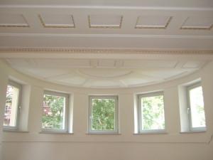 Historische Decke Masterbedroom