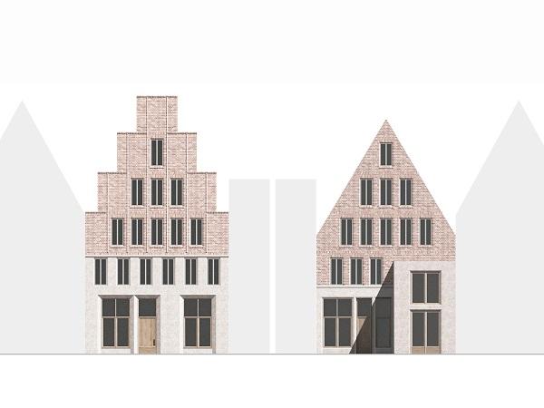 Fischstr. 16, Lübeck – Neues Stadthaus im Gründungsviertel