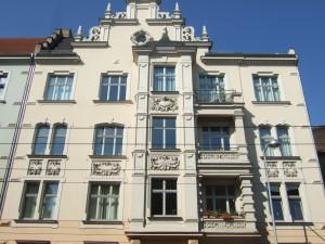 Fassadenblick ab Etage1