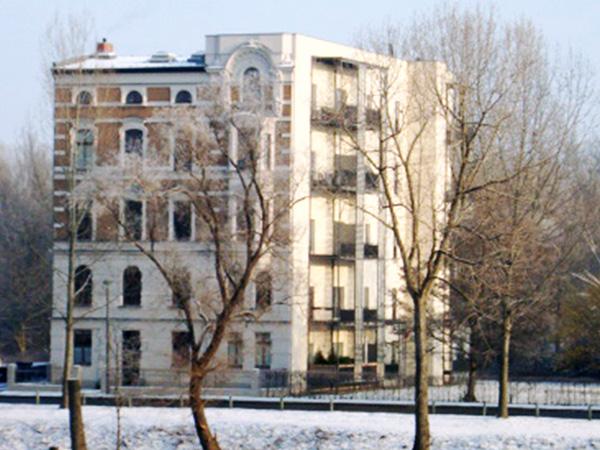 Mietshaus Elbinselhaus, Magdeburg – Kulturdenkmal  Gründerzeit