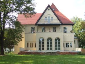 Wintergarten- Gartenterrassenansicht
